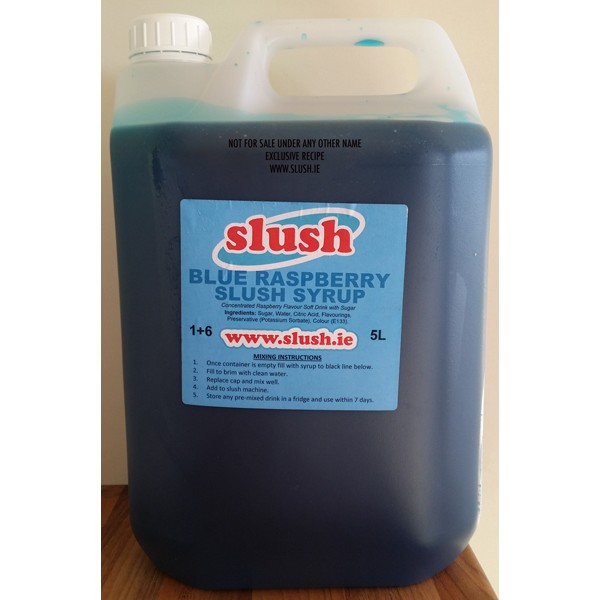 Blue Raspberry Slush Mix