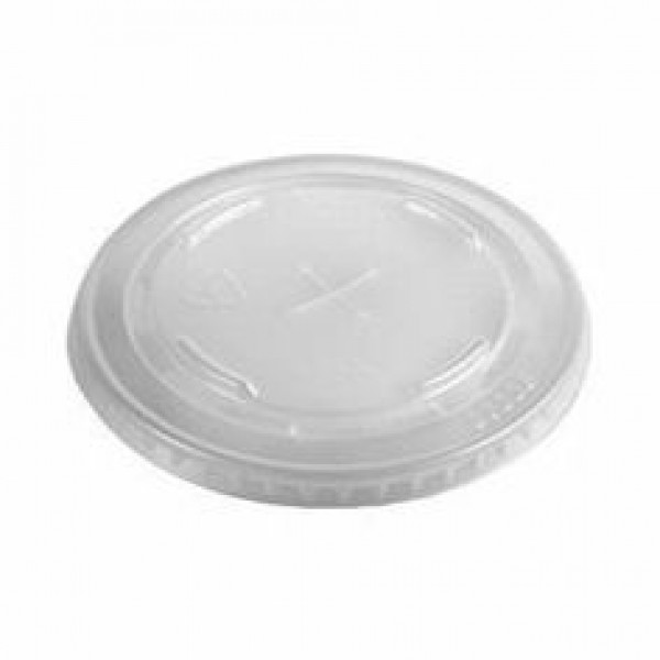 Flat Lid with Strawslot